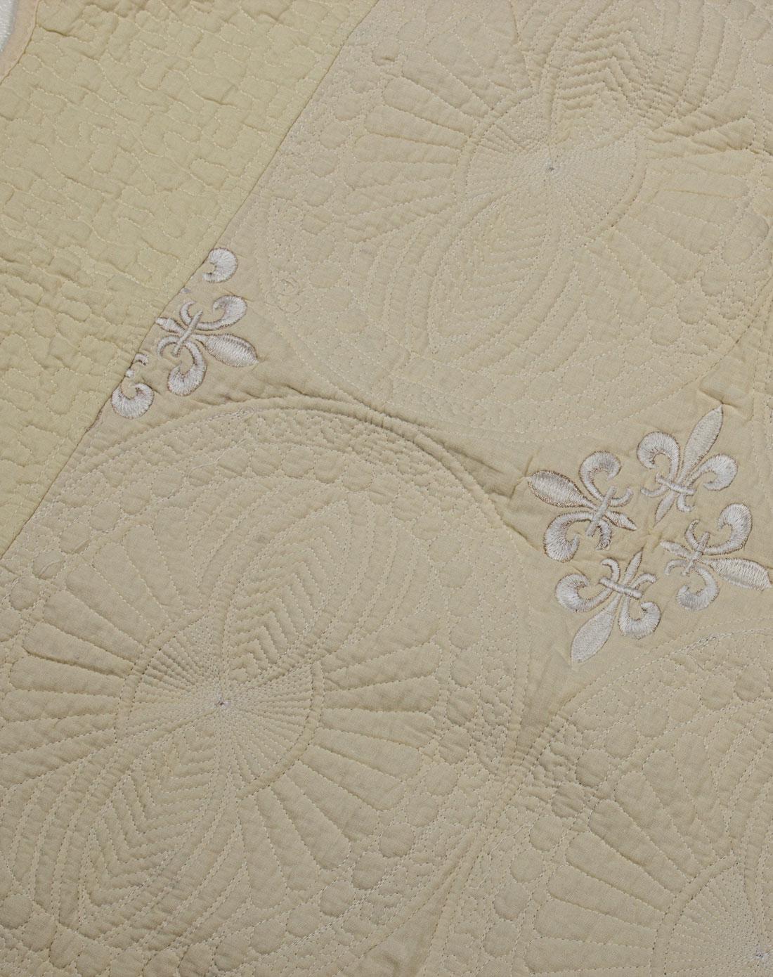 田园布艺沙桌垫几何花纹90*210cm