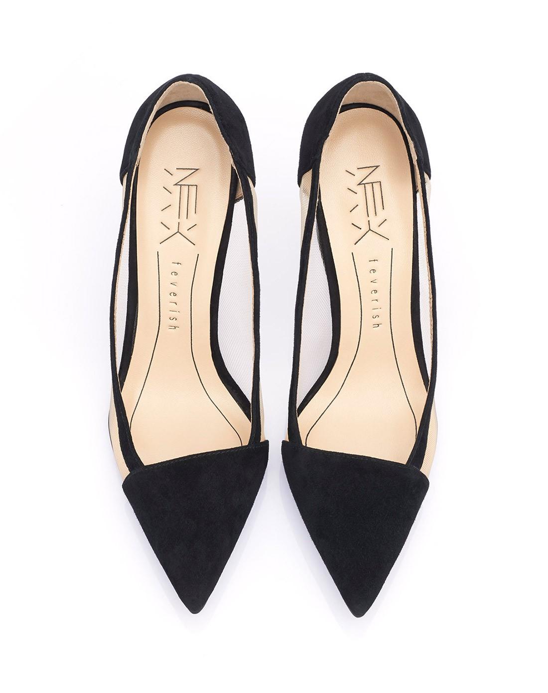 丝网高跟鞋ab15x