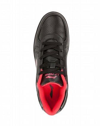 黑/桃红 乒乓球文化鞋