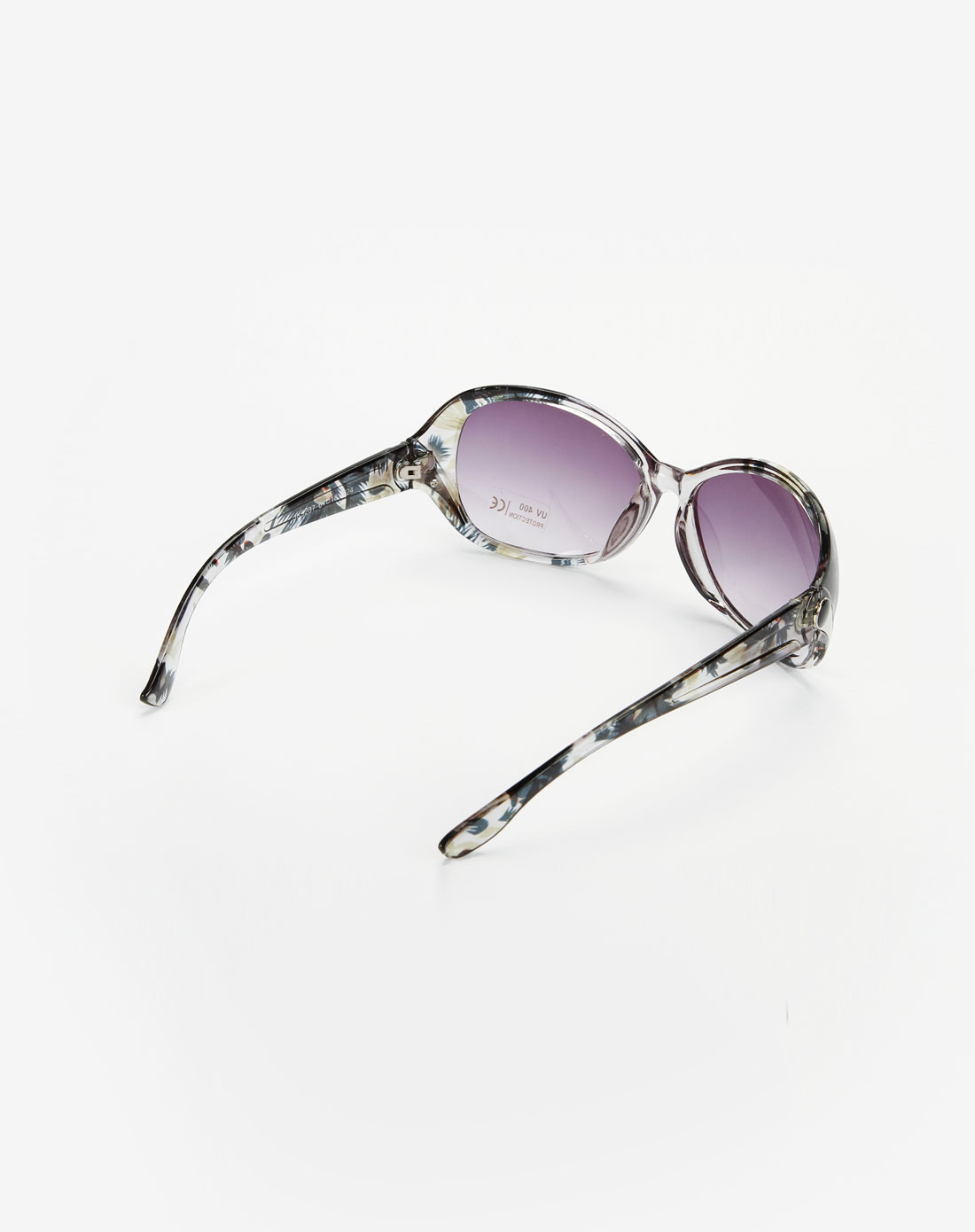 花纹黑色太阳眼镜