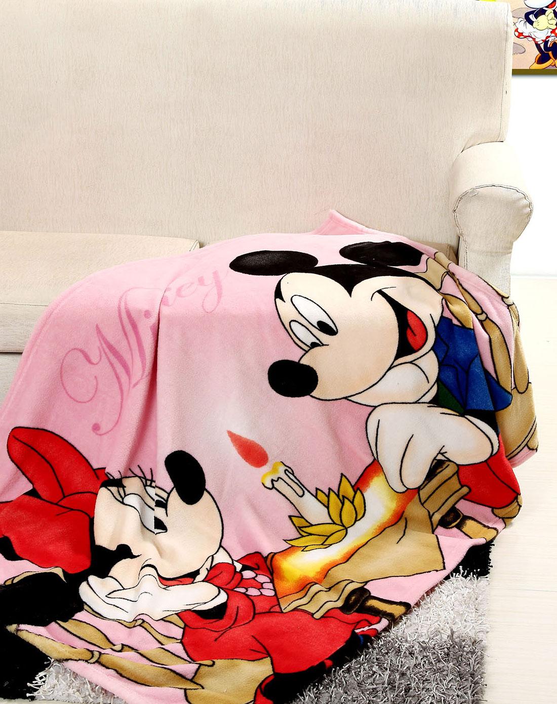 两只老鼠卡通童毯1.0m202182