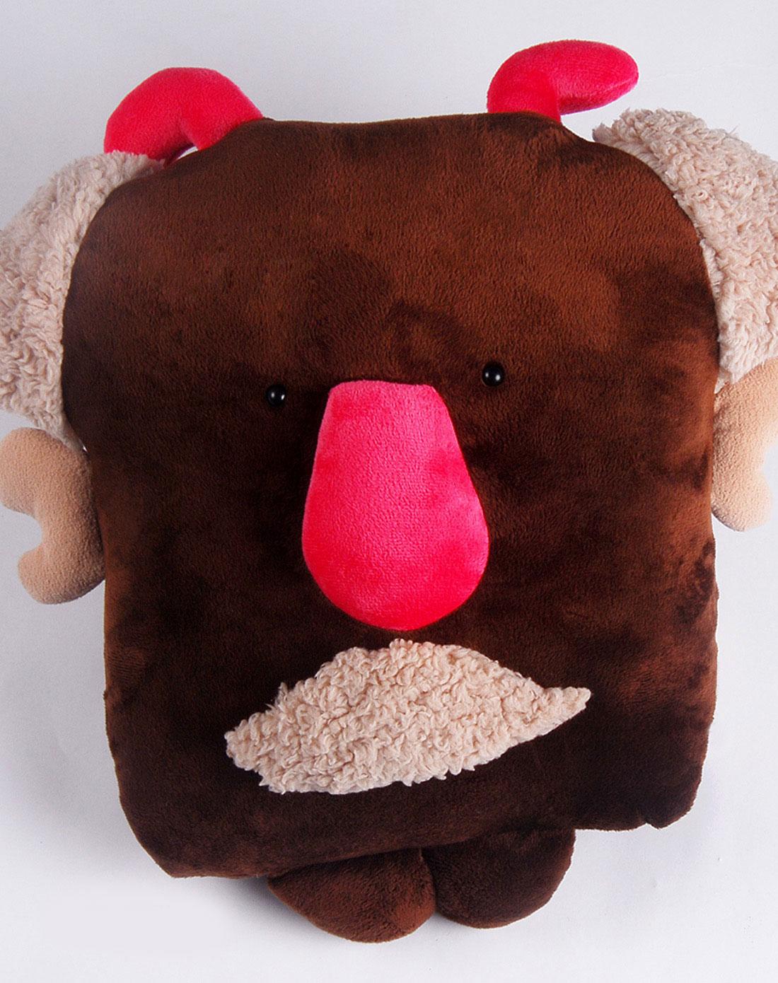 可爱大鼻子小丑爷爷抱枕