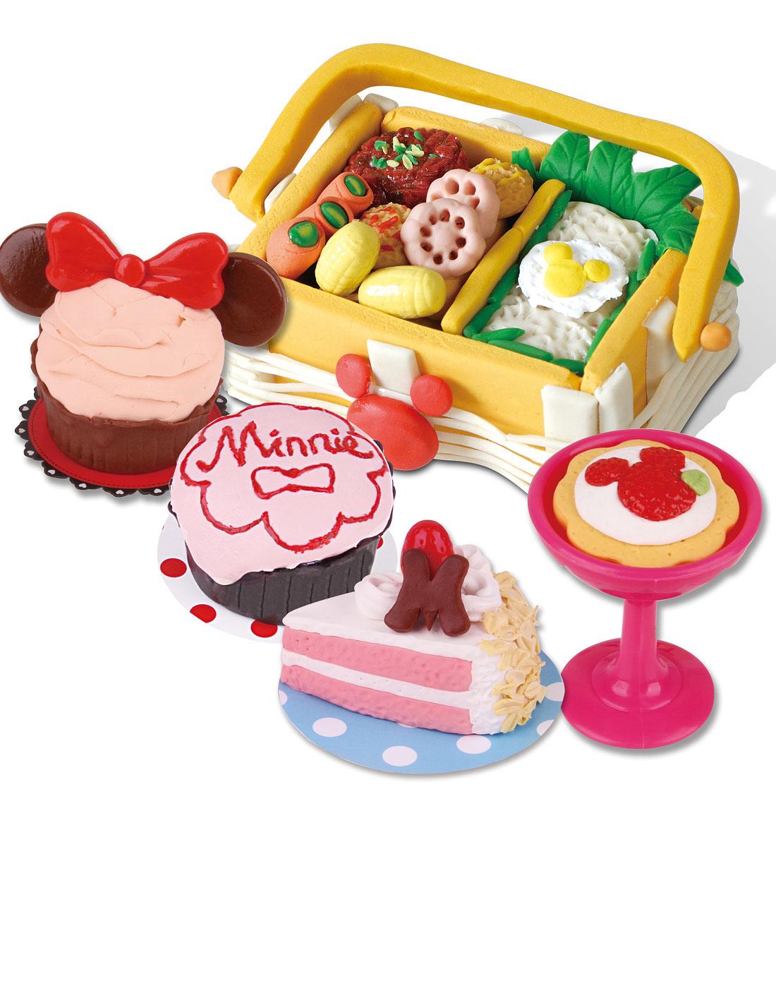 迪士尼disney家居用品专场-欢乐午餐彩泥套装