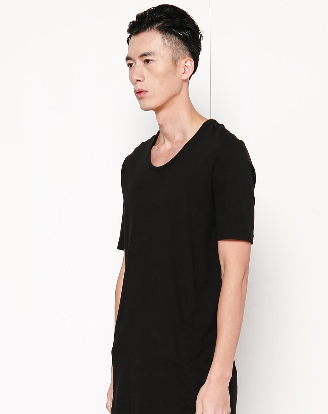 黑色潮流时尚短袖t恤