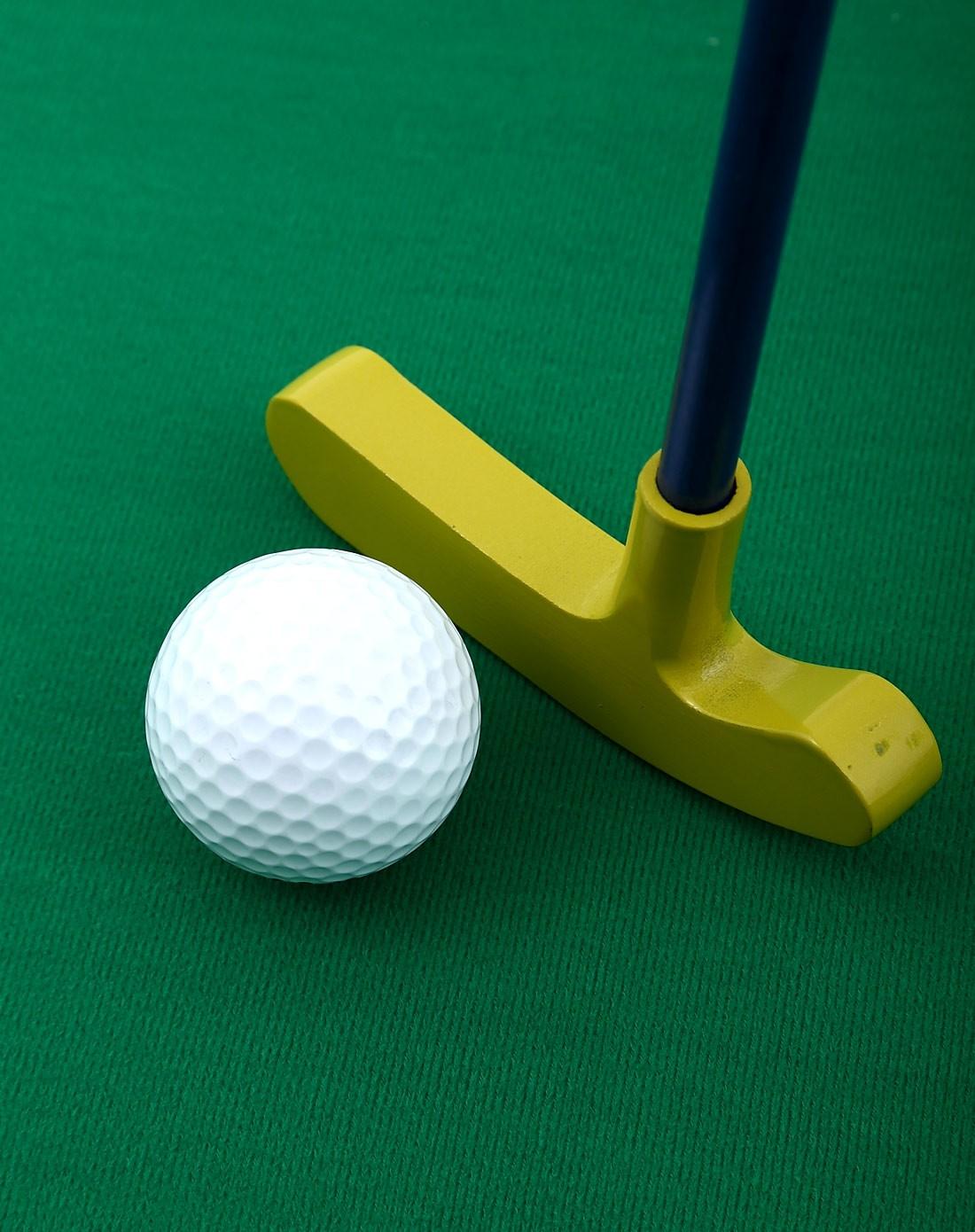 美式亲子室内迷你高尔夫球游戏套装