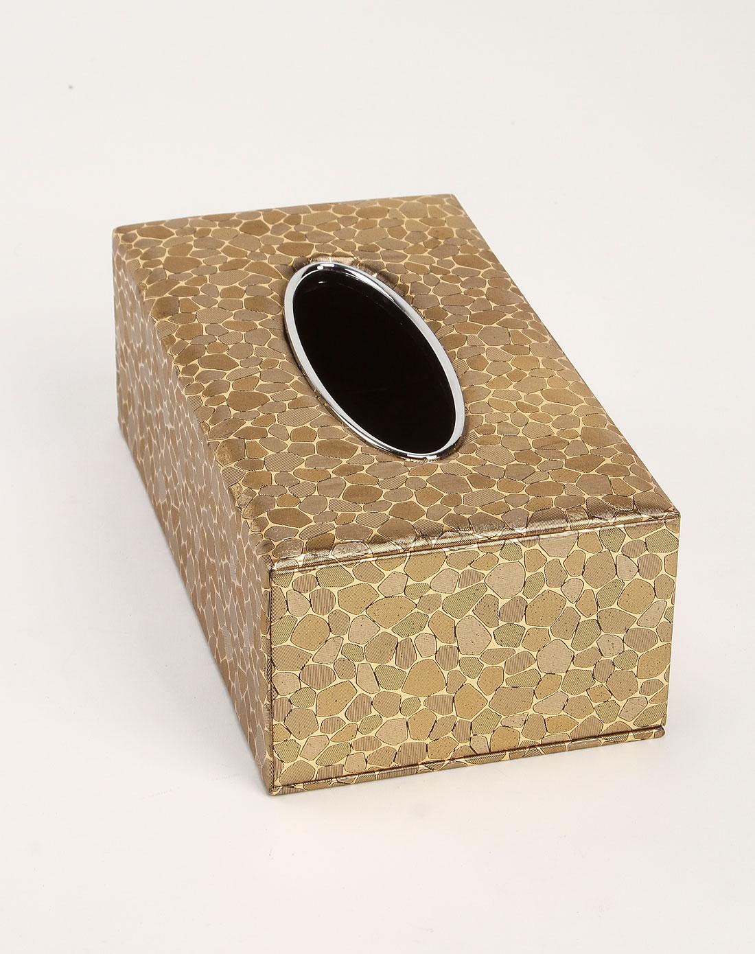 jm家居用品专场金色欧式高档仿皮革抽纸巾盒bh-2226