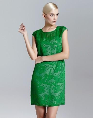 连衣裙绿色