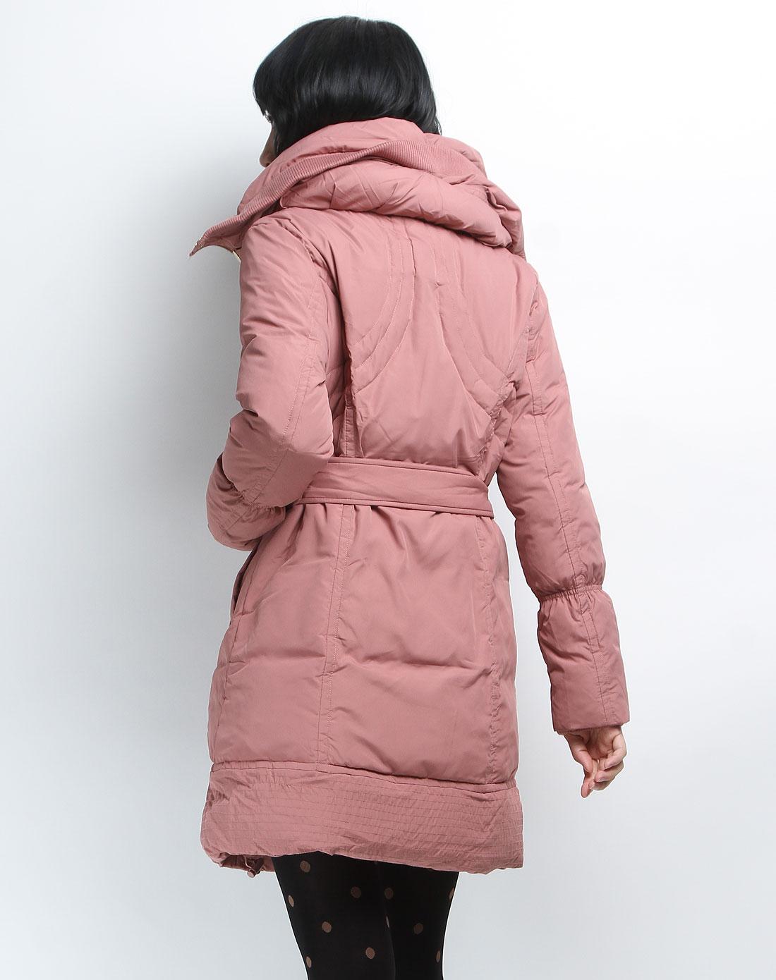 惠粉红_最后约惠-宠爱一家专场森马 暗粉红色时尚长款长袖服