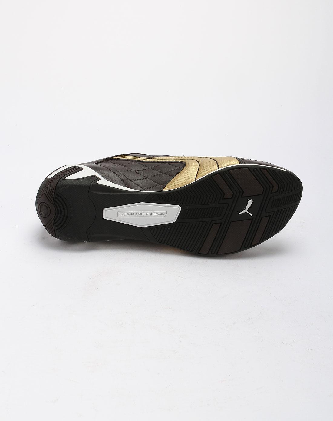 彪马puma深啡金色休闲运动鞋30412102