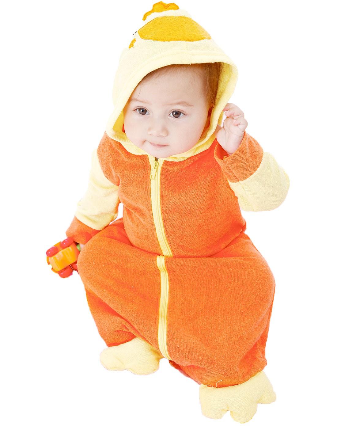 oriana母婴用品专场02婴幼儿卡通小动物带帽浴袍图片