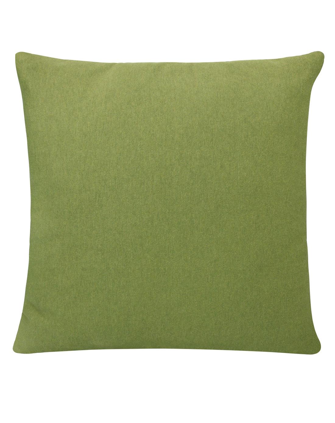 基本生活emoi绿白条纹针织抱枕p0001124_唯品会