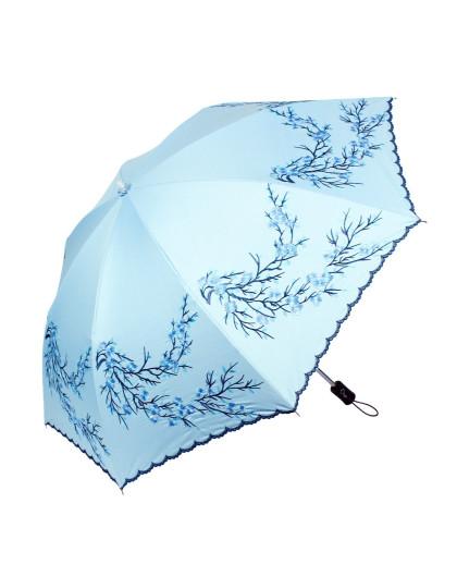 梅花伞刺绣