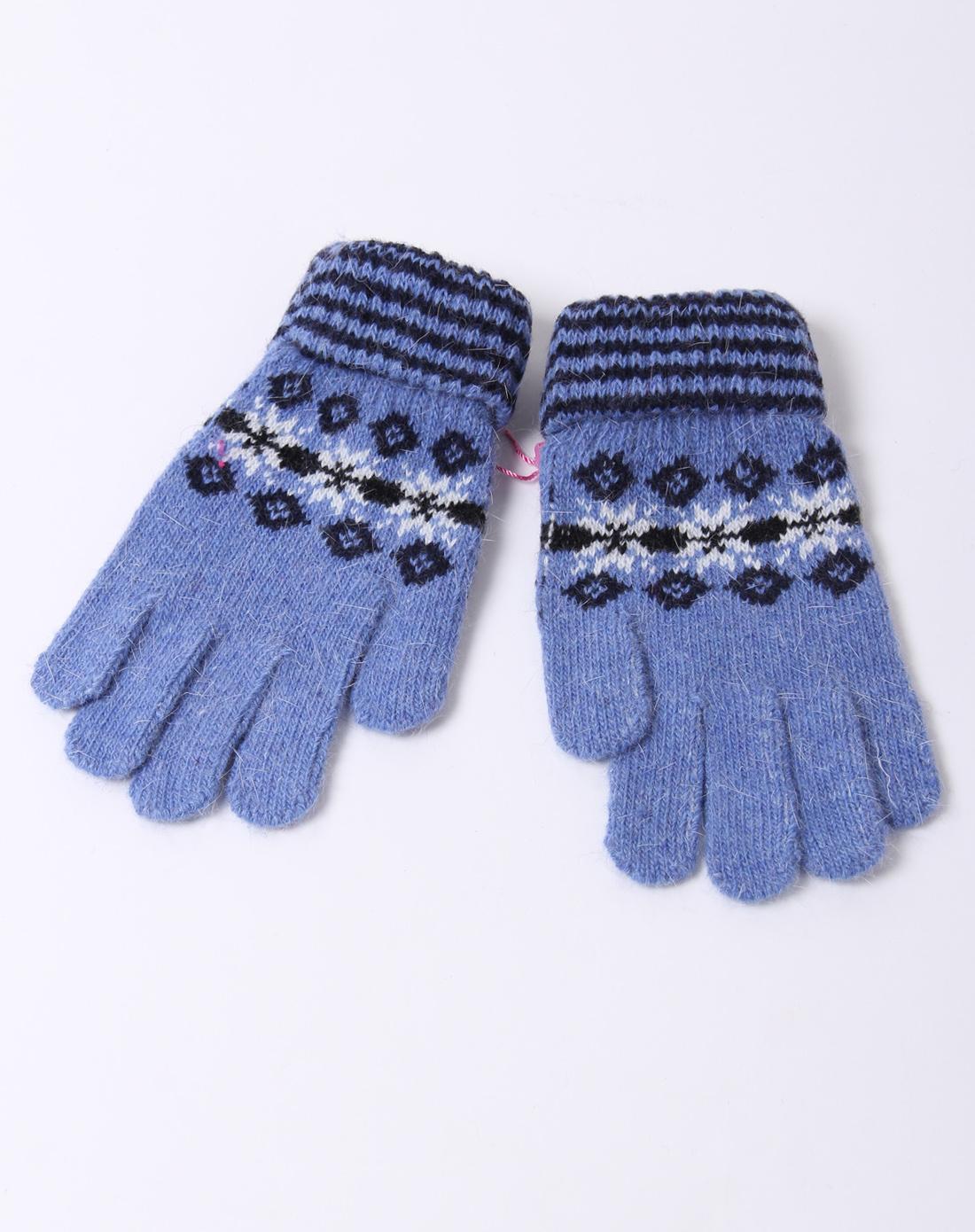 童天蓝护腕五指手套