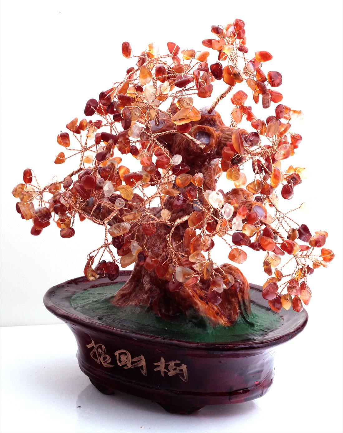 树脂(大号)玛瑙树 发财树摆件 招财镇宅 摆件