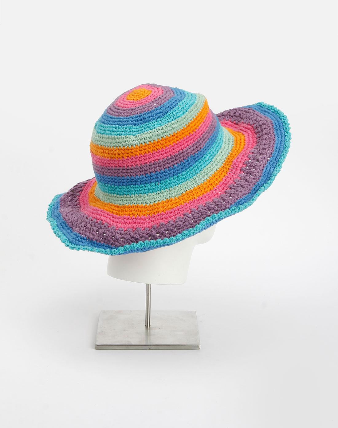 彩色太阳帽