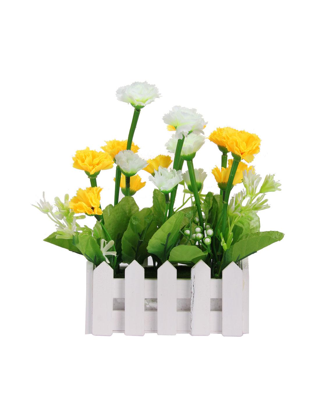 h&3家居用品专场欧式长款栅栏仿真装饰花温馨家园