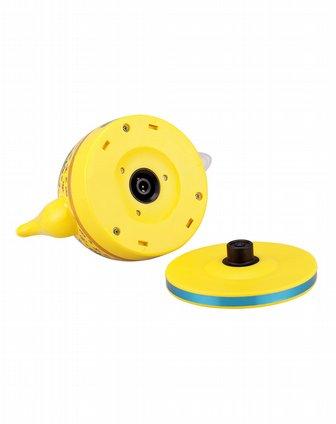 黄色中国龙陶瓷电热水壶