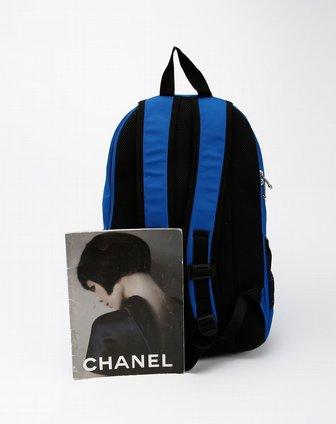 蓝/黑色休闲背包图片