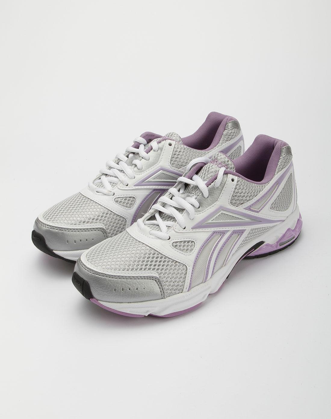 锐步reebok银色透气时尚运动鞋j22692