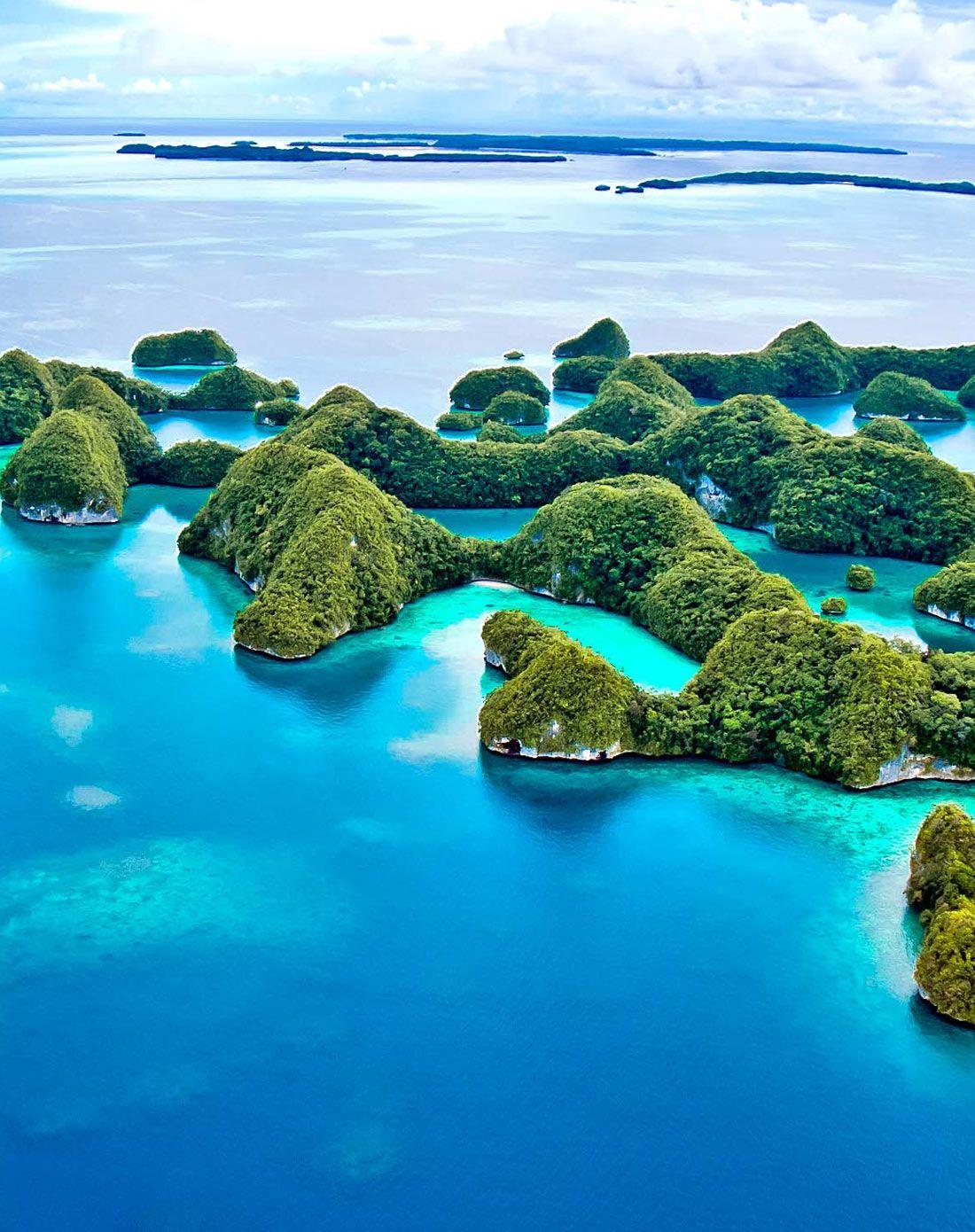 帕劳5天4晚自由行(天堂岛度假村+接送机+旅游
