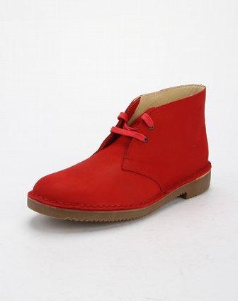圣伽步skap女款大红色系带素面低跟深口单鞋10210