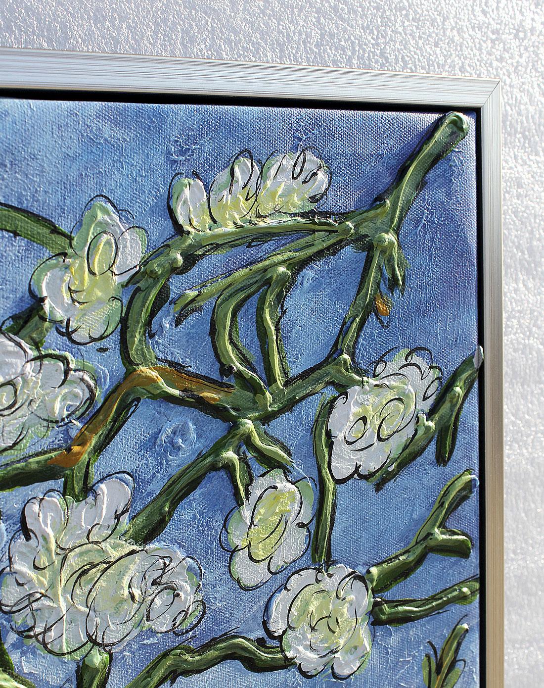 梵高·杏花-纯手绘油画(单幅)