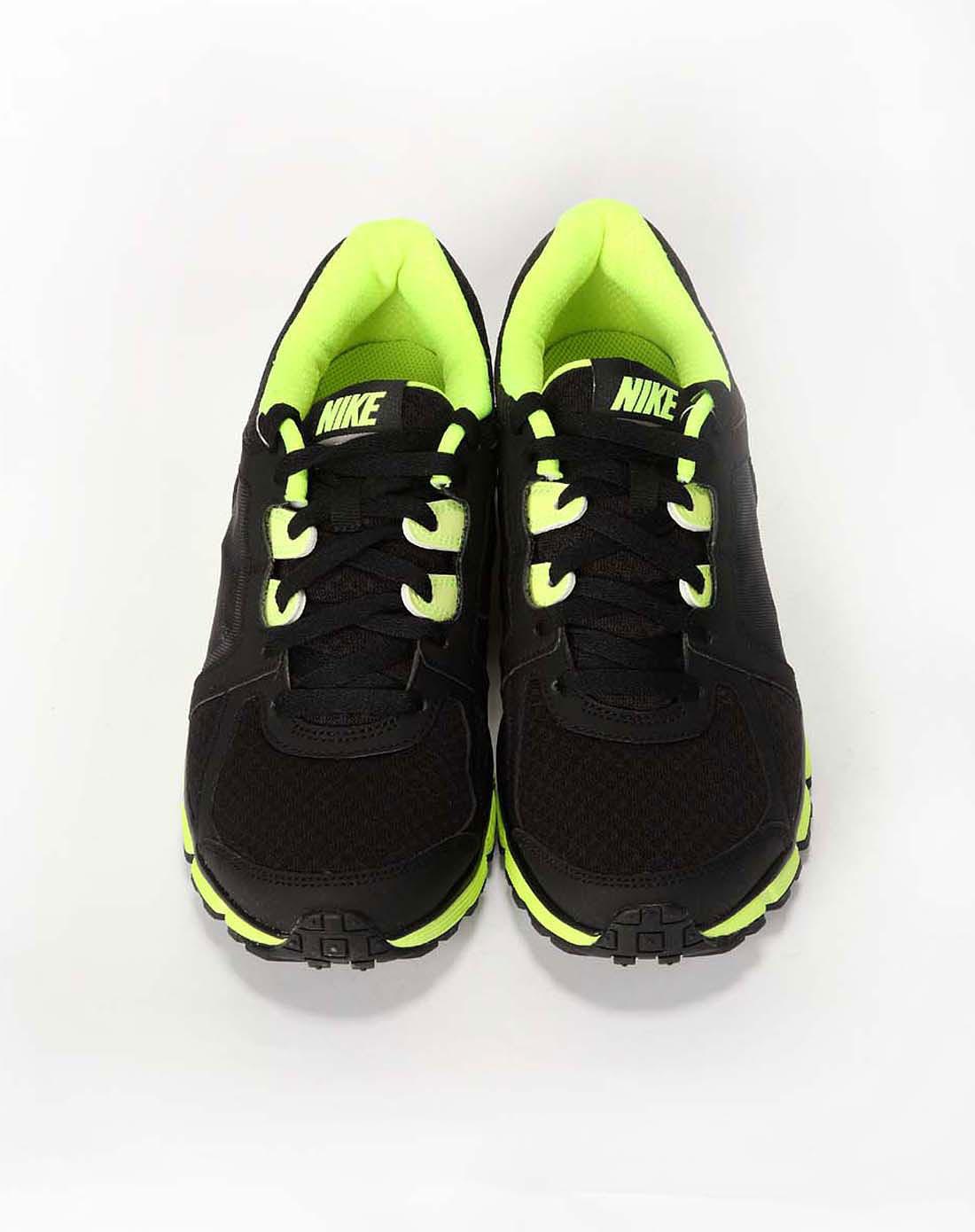 耐克nike男子黑色跑步鞋472776-005