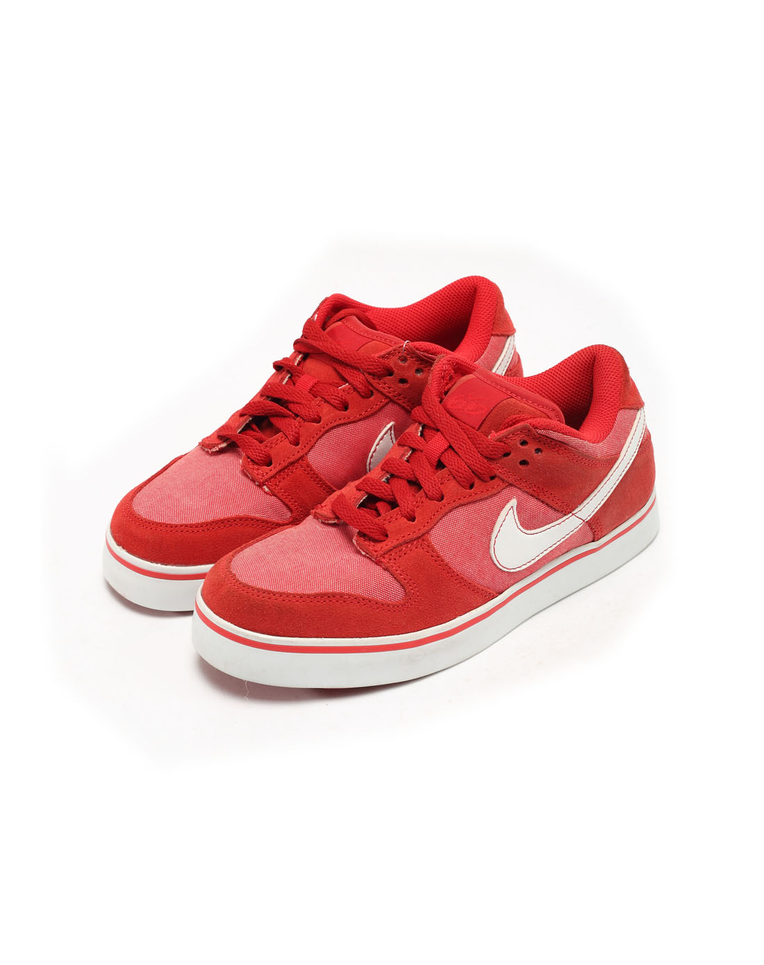 耐克nike女子红色复古鞋409398-600