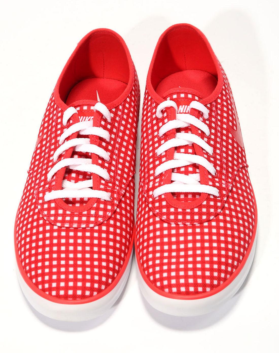 耐克nike-女子红色复古鞋511287-661