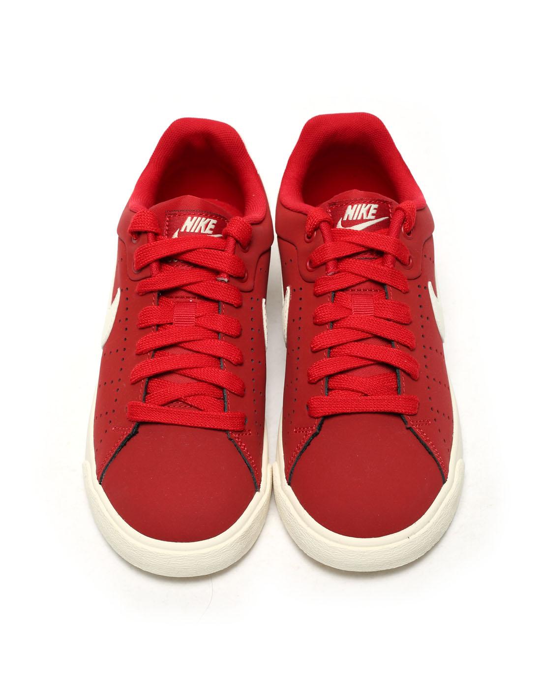 耐克nike女子红色复古鞋532364-600