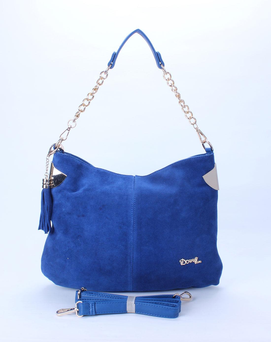 多芘dobby dana女款蓝色两用包ds1267-3bl