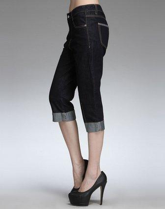 挽裤边方法图解