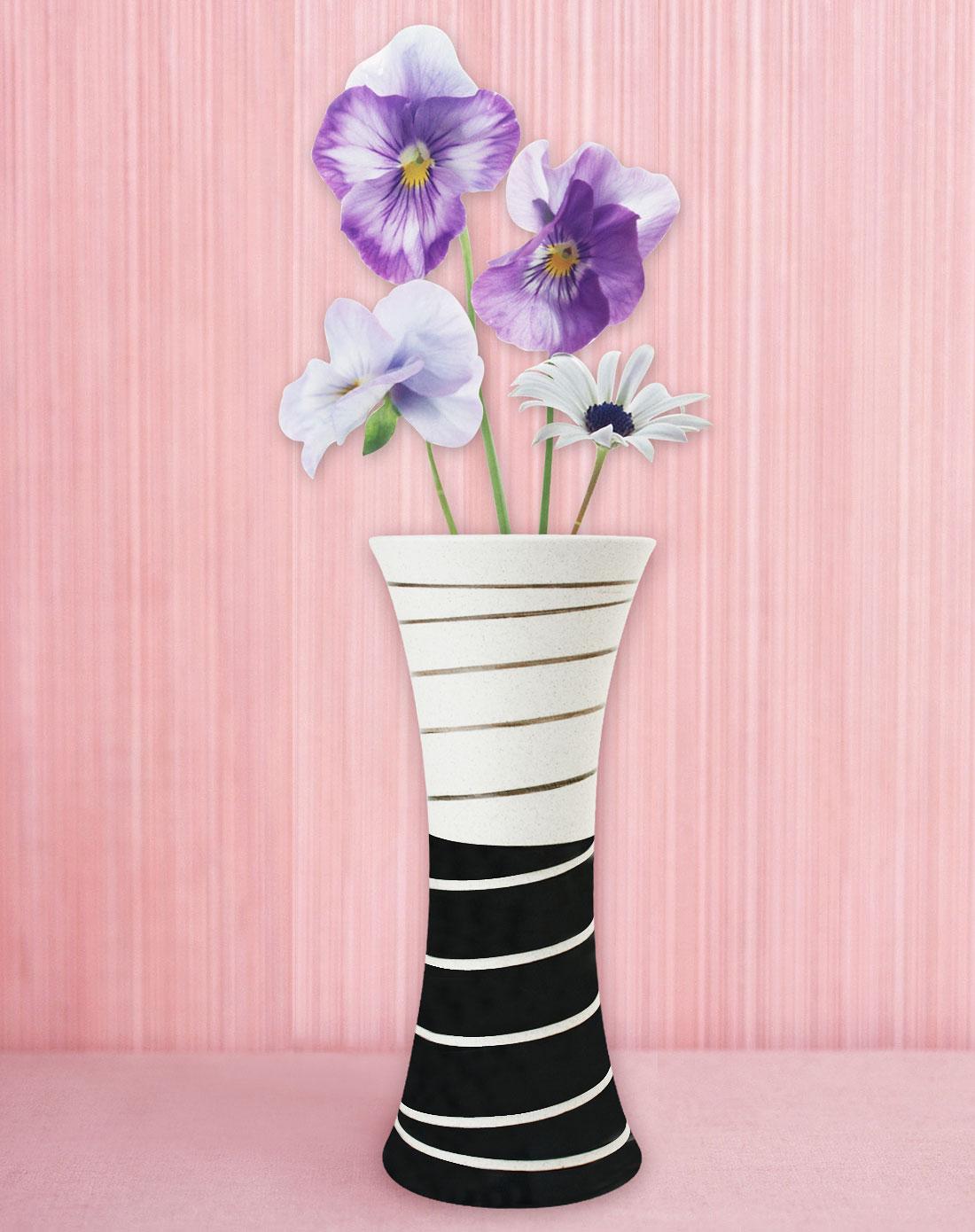 陶艺手绘花瓶(喇叭款)