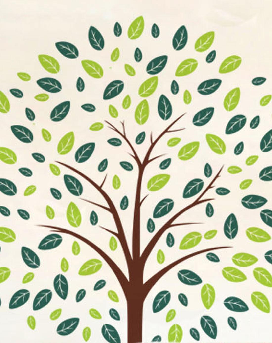 墙贴-幸运树xz101080
