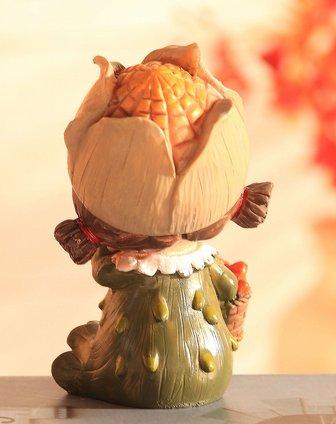 卡通树脂工艺摆件吊脚娃娃-玉米娃娃图片