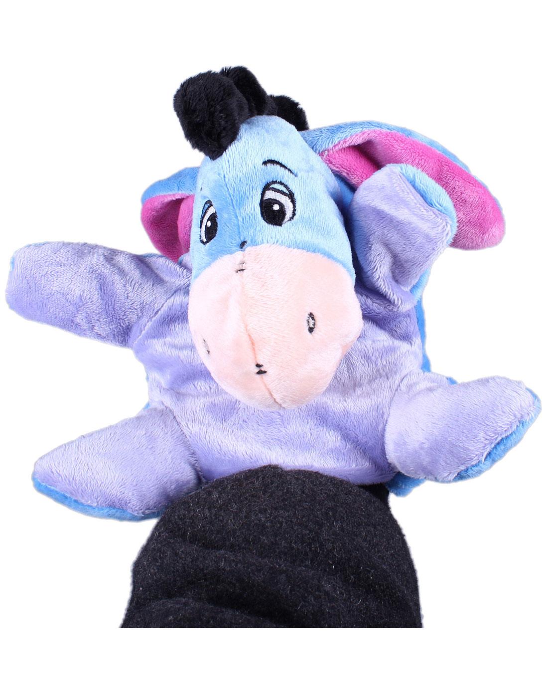 10寸可爱小驴手偶毛绒玩具