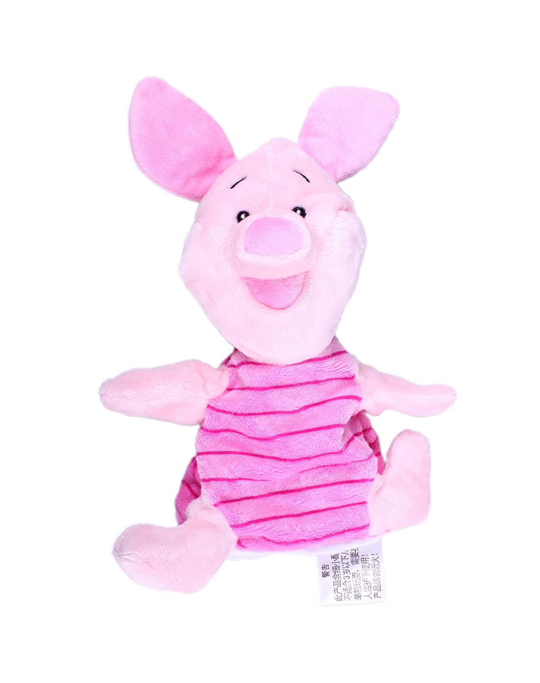 10寸可爱小猪手偶毛绒玩具