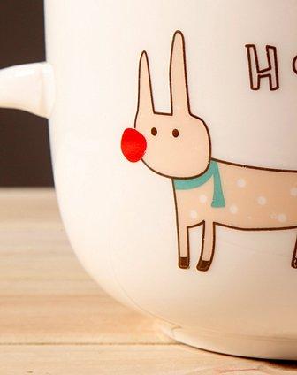 陶瓷保鲜碗-卡通狗