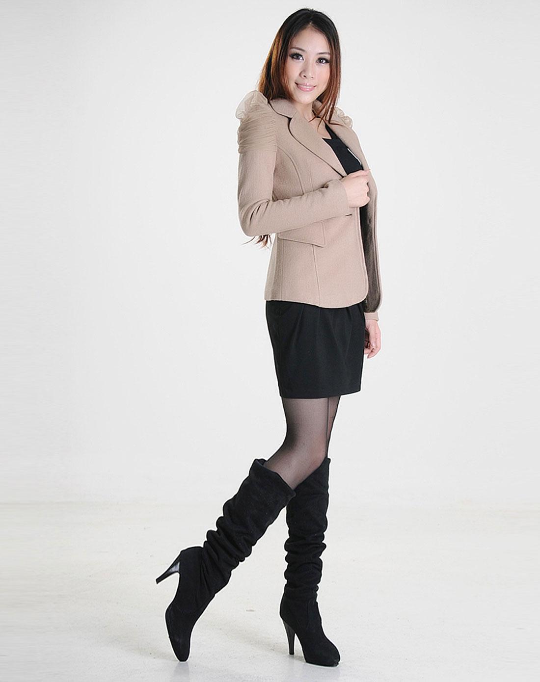 癹n��(nY_ny黑色时尚短裙113132711_唯品会