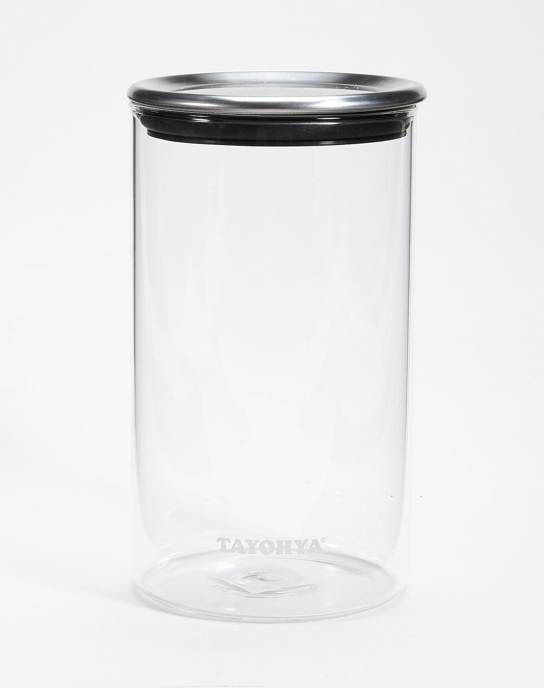 阳光透明玻璃密封罐 1300ml