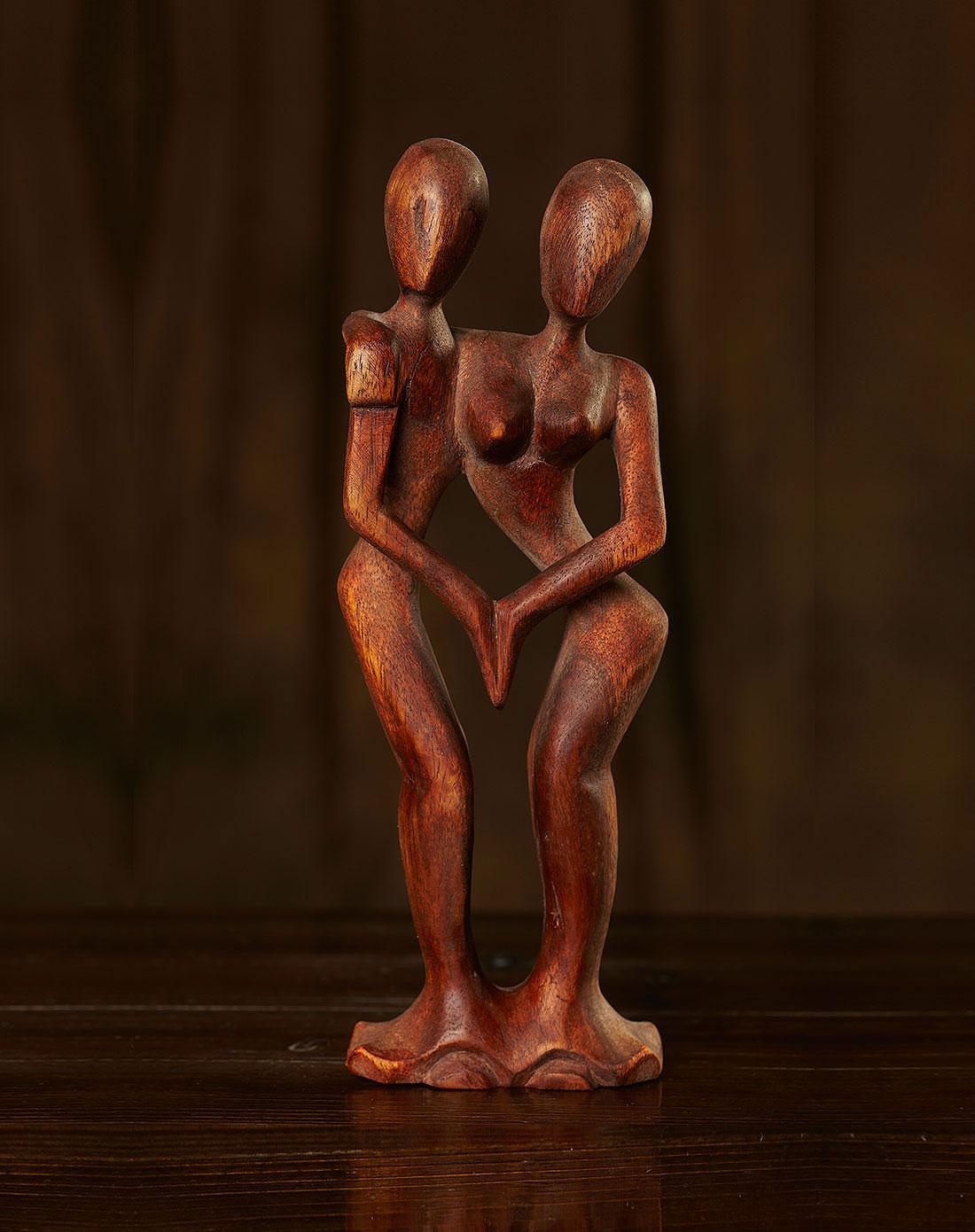 【印尼.巴厘岛】双人舞.手工木雕
