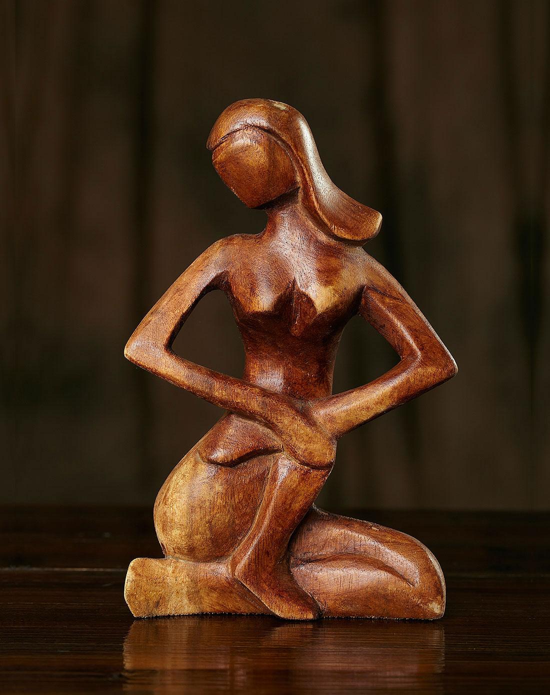 【印尼.巴厘岛】唯美女人.手工木雕