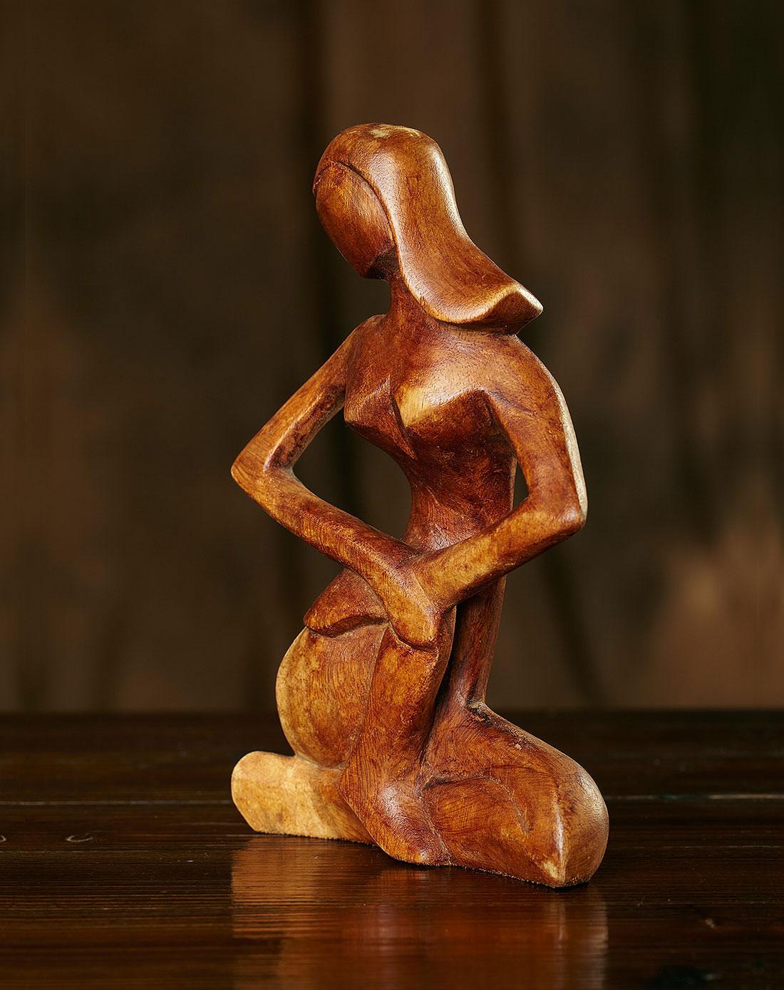 巴厘岛】唯美女人.手工木雕