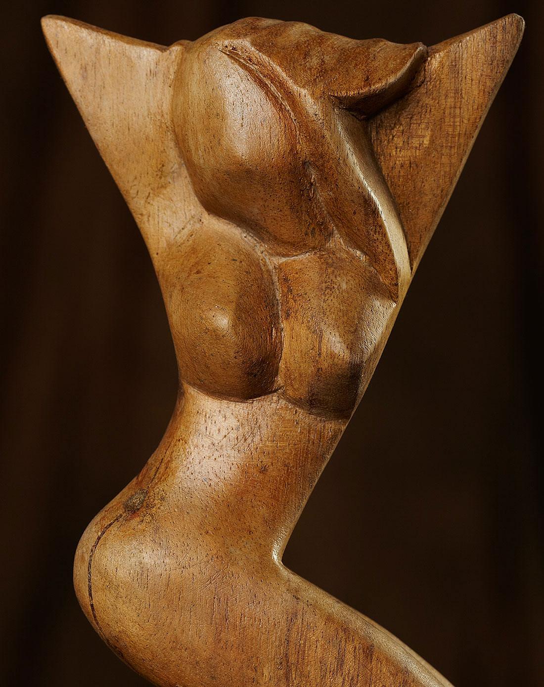 【印尼.巴厘岛】木雕美女.手工木雕