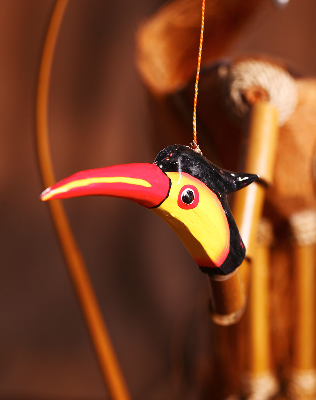 【印尼进口】巴厘岛竹制风铃(侯鸟)