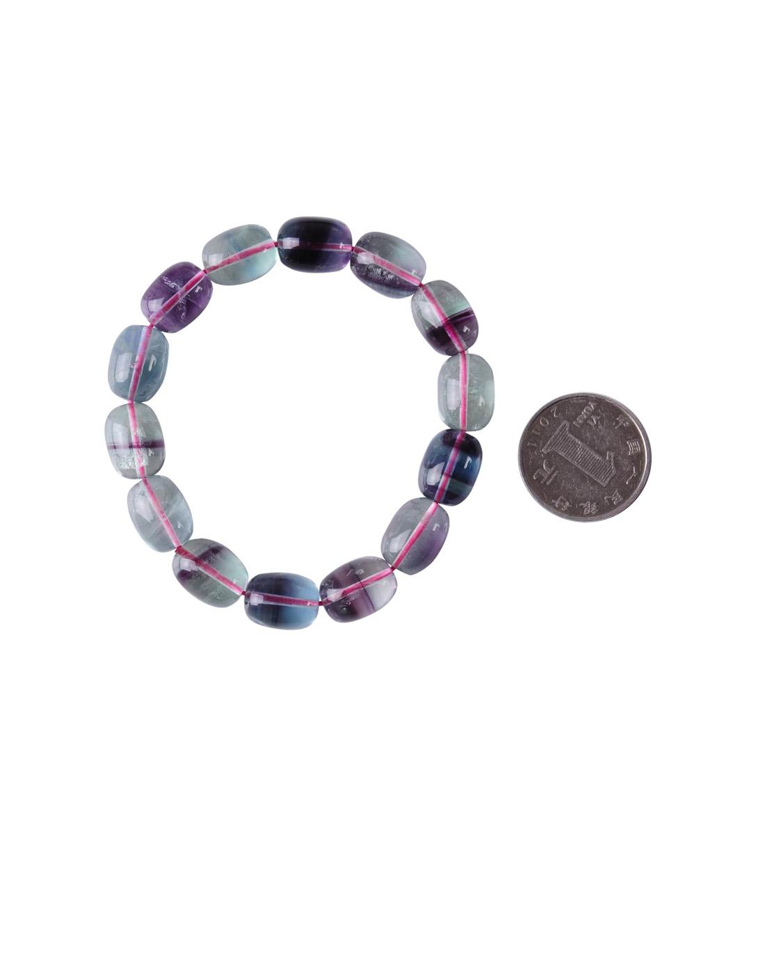 椭圆形珠子时尚手链05