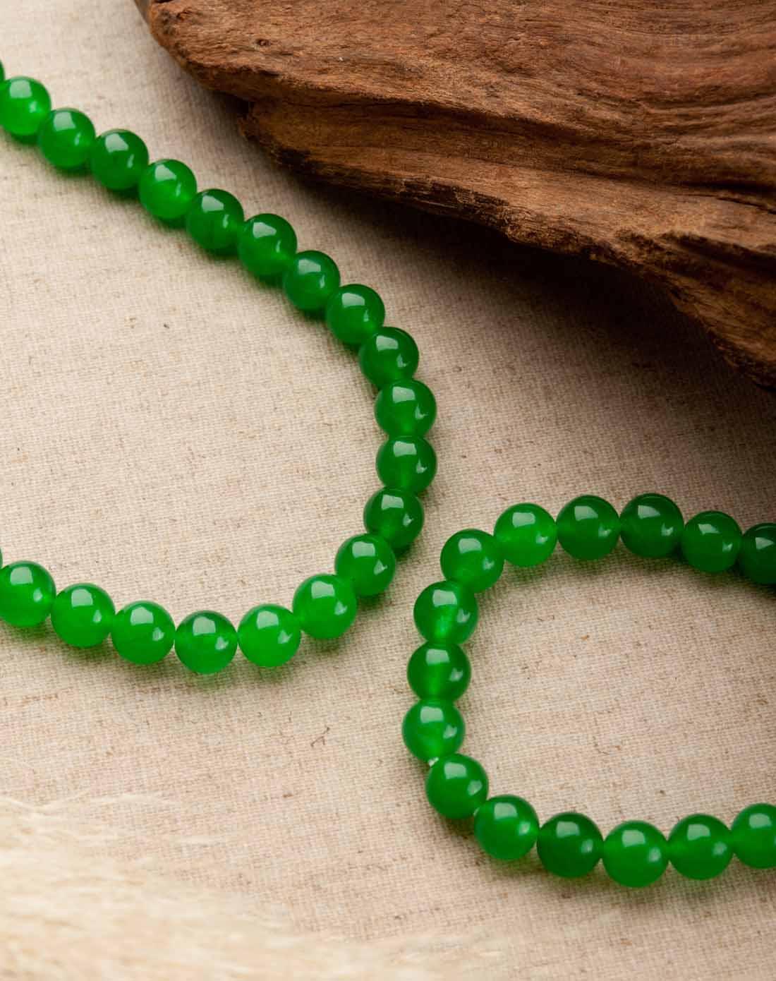 绿色台湾玉项链/手链