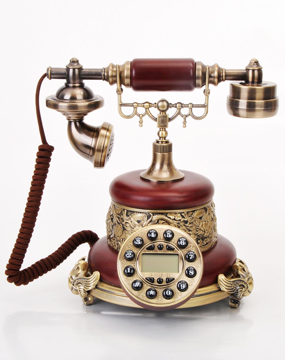 琪特qite欧式仿古电话机-帝王之家gbd-8006015e