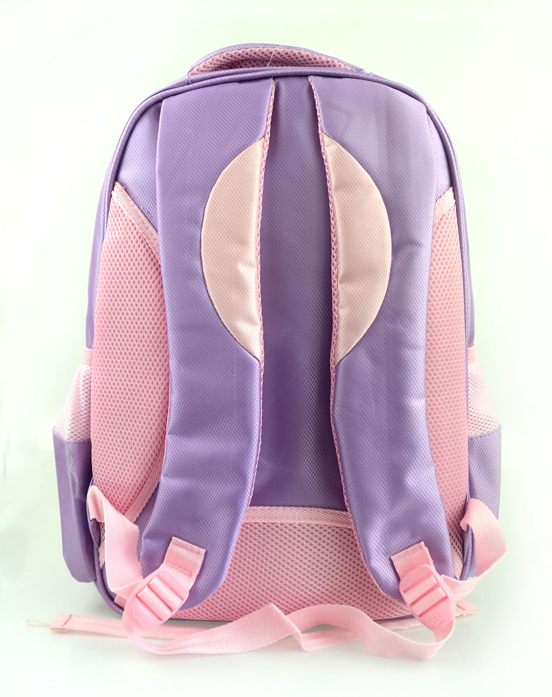 女童紫色公主卡通双肩背包学生书包
