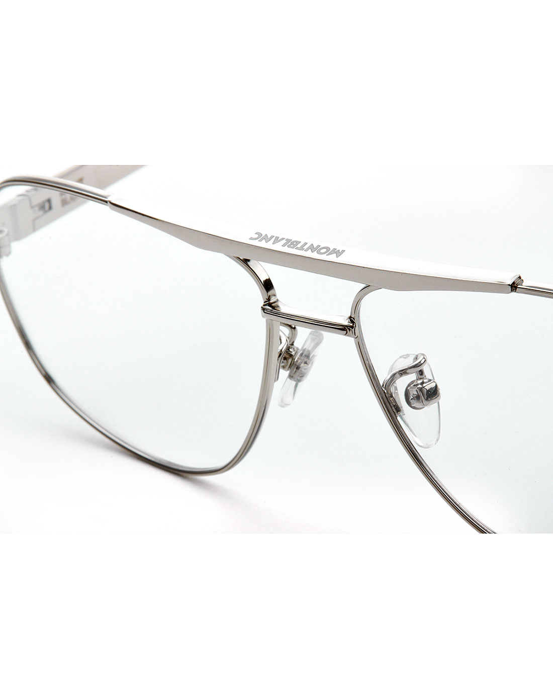 时尚休闲银色全框光学眼镜